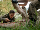 Annihilation (2018) Genre: Science fictionDirector: Alex GarlandCast: Natalie Portman, Jennifer Jason Leigh, Gina Rodriguez, Oscar IsaacIn a rare example of Hollywood sci-fi-horror thoughtfulness, Annihilation has grand concepts in mind, ideas about self-destruction and rebirth. The film follows cellular biologist Lena (Portman) as she ventures to The Shimmer, an anomalous electromagnetic field, to discover the truth about what happened to her husband Kane (Isaac), who visited The Shimmer and returned in poor health and his memory missing.