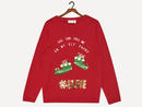 Name It – Girls Christmas Themed Sweater
