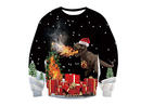 AIDEAONE – Unisex Ugly Christmas Sweatshirt 3D Printed Pullover Long Sleeve Shirts