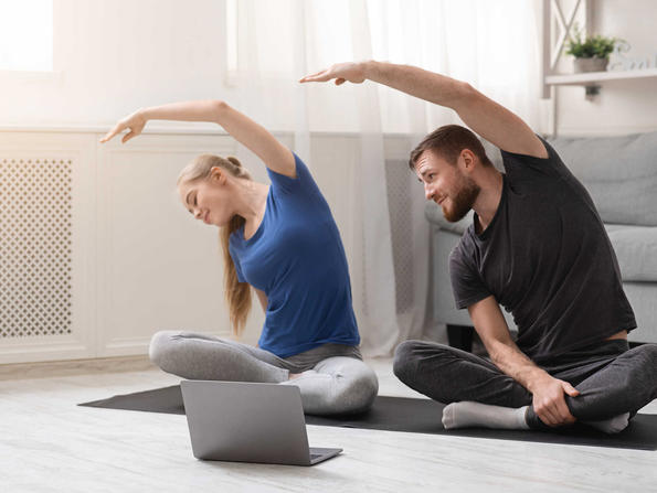 Tips for practising yoga at home