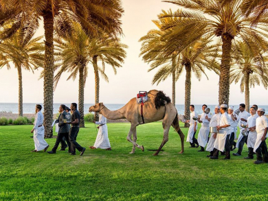 The Chedi Muscat launches new food experience