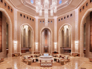 Al Bustan Palace offering discount on rooms for Oman's National Day