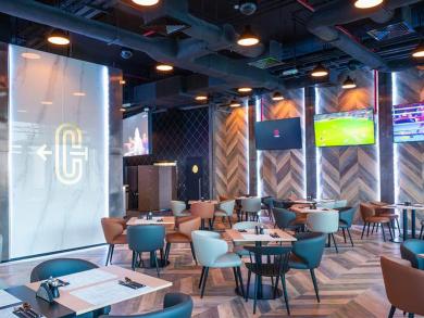 Sports lounge opens in Kempinski Hotel Muscat