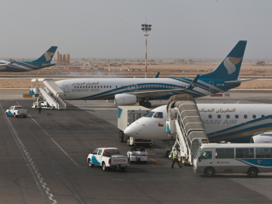 Ninety percent of Oman Air flights were on time in 2019