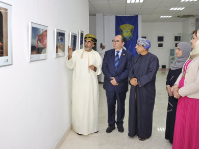 Omani-Italian photography exhibition opens in A'Seeb