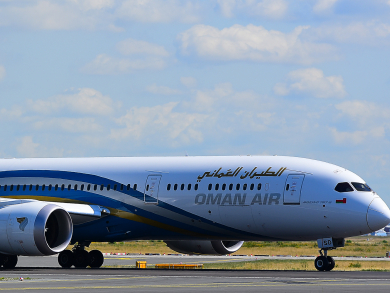 Oman Air temporarily removes change fees