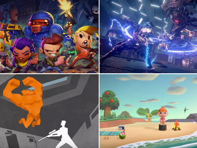 15 Nintendo Switch games to play at home