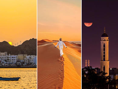 Ten amazing pictures from across Oman