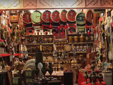 Five top places buy authentic Saudi Arabian souvenirs in Riyadh
