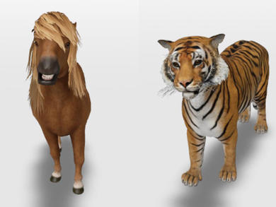 Google has launched fun 3D animals that kids can see at home