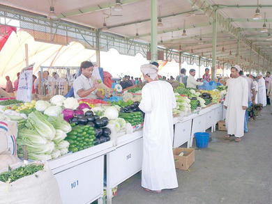 Mawaleh Central Vegetables and Fruits Market in Muscat reopens