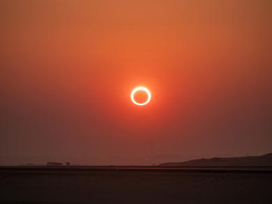 Oman to witness 'ring of fire' eclipse next month