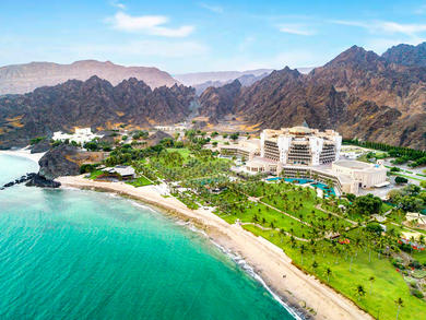 Muscat's Al Bustan Palace, A Ritz-Carlton Hotel reopens with a family-friendly staycation deal