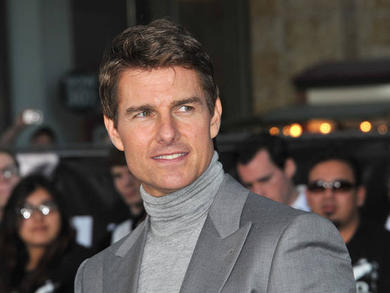 Check out Tom Cruise driving off a Norwegian cliff