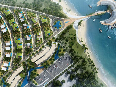 Luxury Pearl Resort hotel to be built in Al Ashkara Beach in Oman