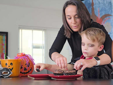 Halloween recipes to make with the kids