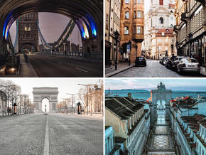 In pictures: Empty cities around the world